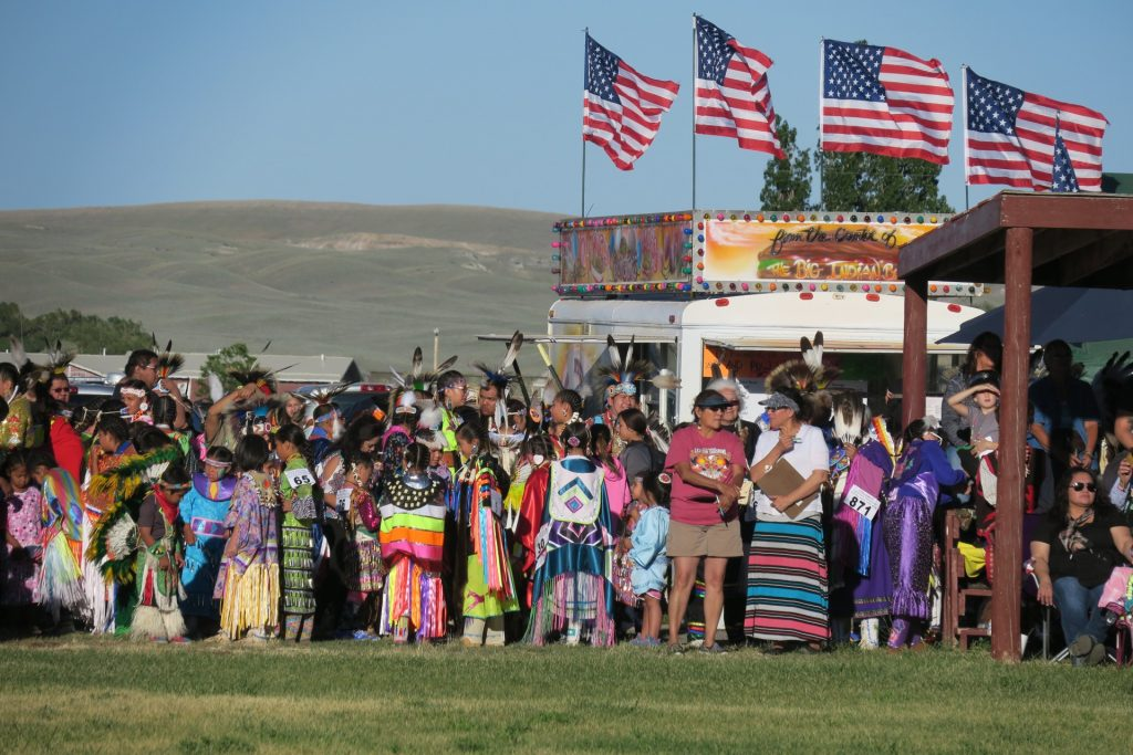 Shoshone powow near Lander, Wyoming