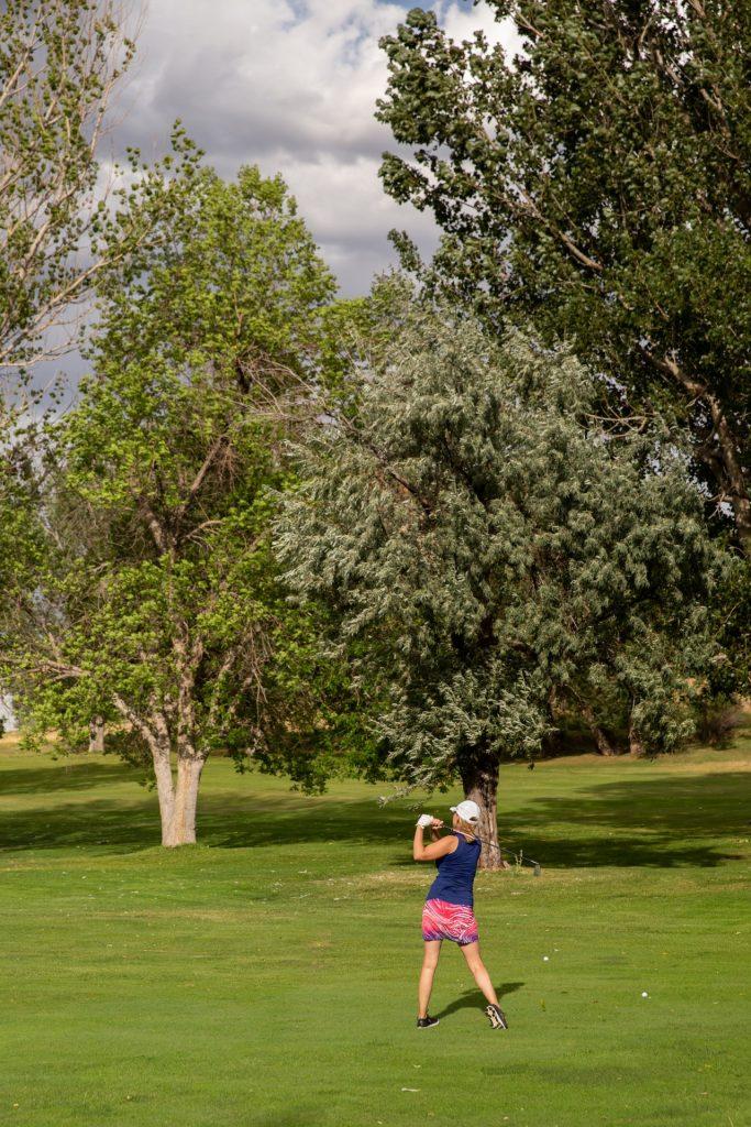 Golfing in Lander Wyoming